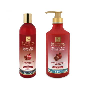 Moisture Rich Shower Cream Pomegranates Extract