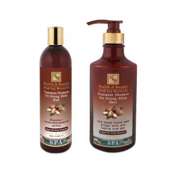 Argan Treatment Shampoo for Strong Shiny Hair