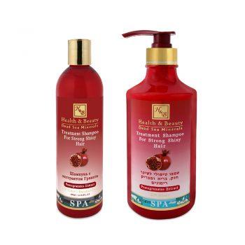 Pomegranates extract Shampoo for Strong & Shiny Hair