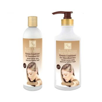 Keratin conditioner for Smoothed Hair